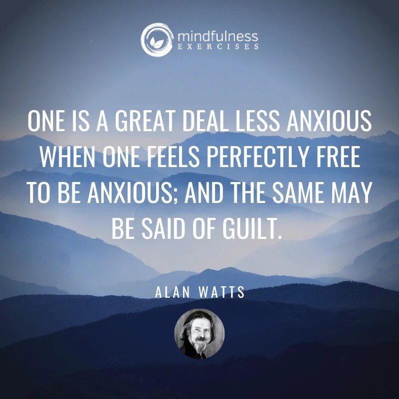 One Is A Great Deal Alan Watts Inspirational Mindfulness Quotes