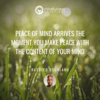 Peace of Mind Rasheed Ogunlaru Mindfulness Exercises