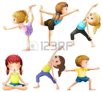 34041990-pratica-femminile-posa-di-yoga