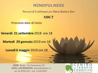 PROSSIMI MBCT