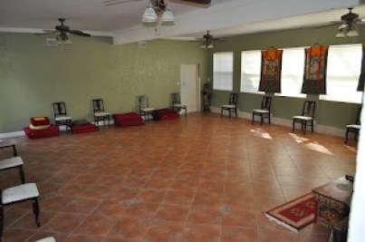 Meditation hall.