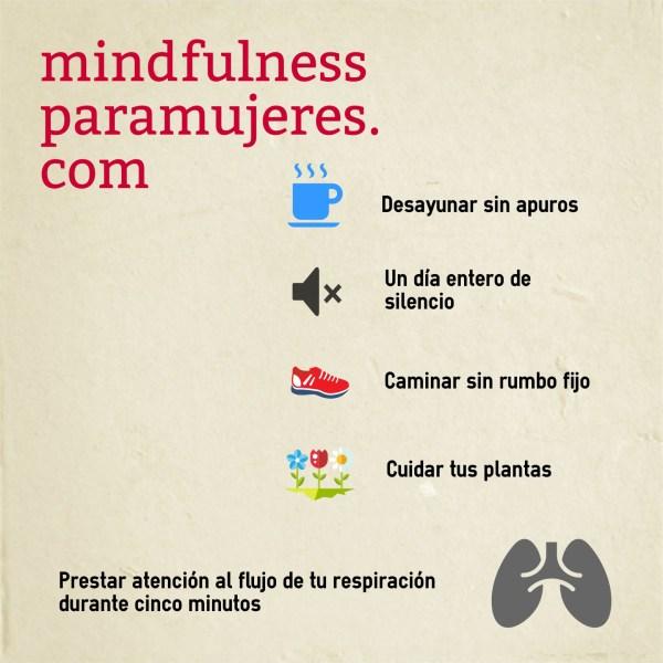 infografia regalos mindfulness