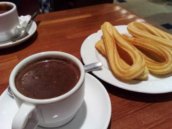 Café con churros y la depresión