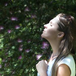 Pratica di mindfulness in natura
