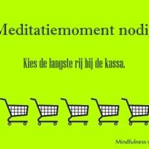 Meditatiemoment nodig?