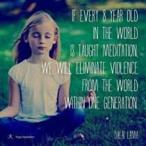 Kijk eens of je een kind kunt laten kennismaken met mindfulness