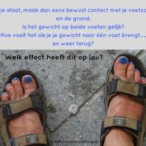 Spelen met je voeten