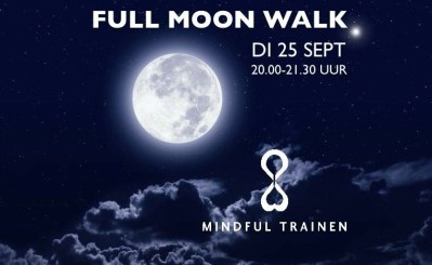 MIndful Full moon City walk in Leiden