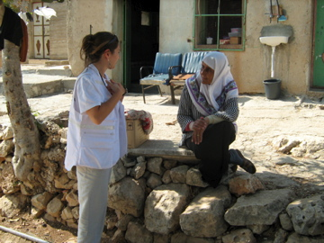 Alessandra in Palestine