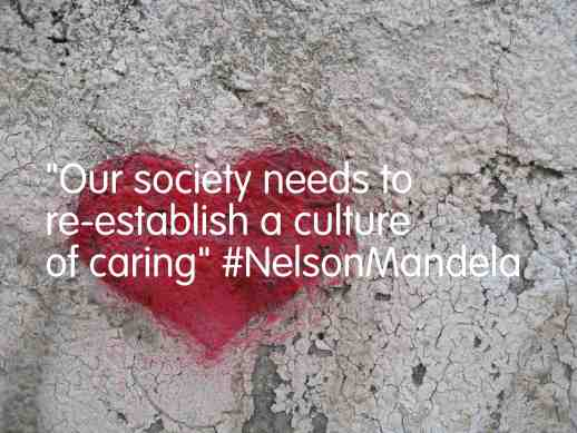 Mandela on a culture of care