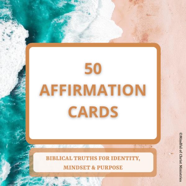 50 Affirmation Cards