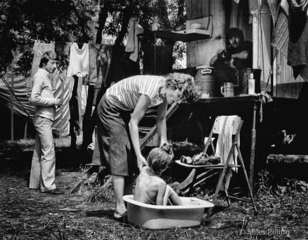 Bath time, Romanian National Circus, 1992