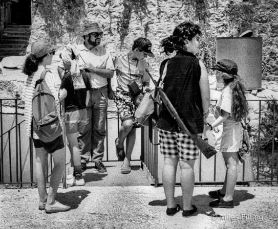 Jewish family, Old City - Jerusalem, 1990