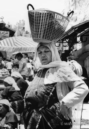 Palestinian lady, Damascus Gate, Jerusalem