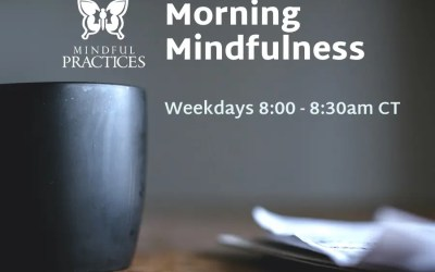 Morning Mindfulness Schedule (week of 5/31)