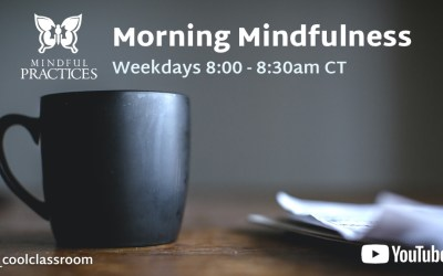 Morning Mindfulness Schedule (week of 6/7)