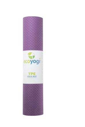 Ecoyogi TPE Yogamat Aubergine 6 mm