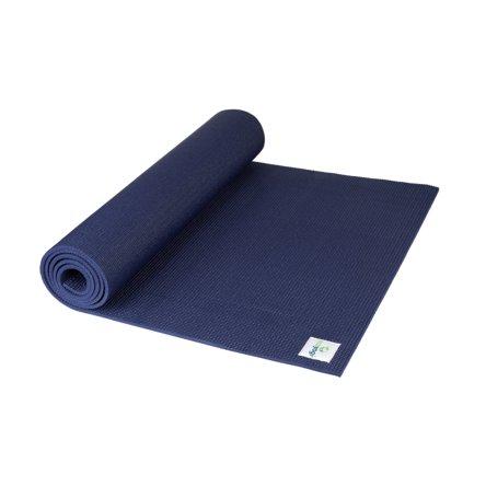 Ecoyogi Classic Midnight Yogamat - blauw
