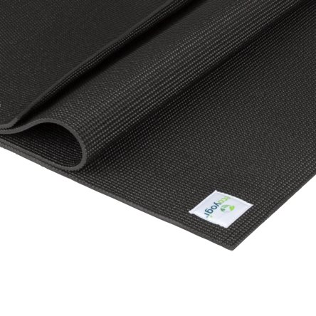 Ecoyogi Classic Infinity Yogamat - zwart