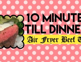 Air fryer beef tips