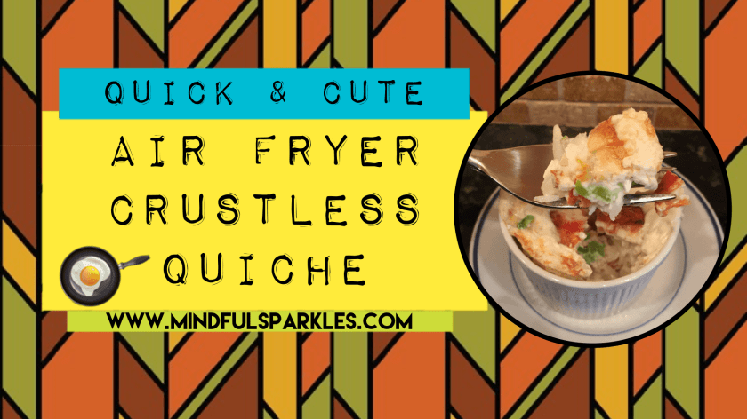 Quick Amp Cute Crustless Quiche Made In 8 Minutes In Your