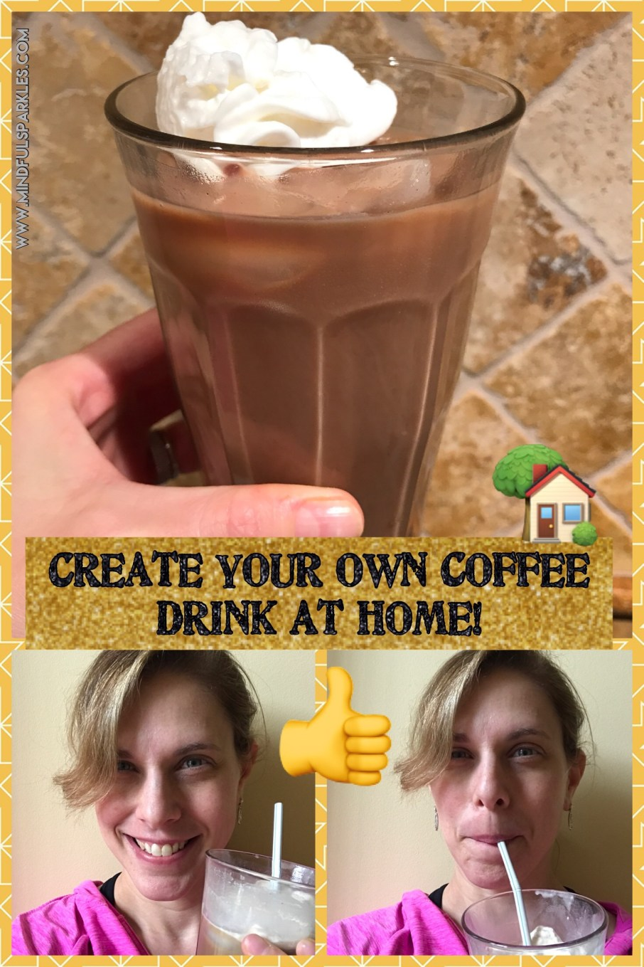 Make your own coffee drinks at home