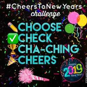 Cheers to New Years Challenge Description #CheersToNewYears