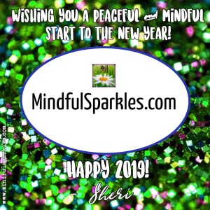 Happy 2019 from www.mindfulsparkles.com