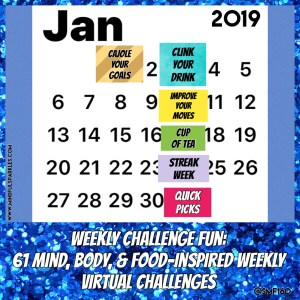 January Virtual Challenges - MindfulSparkles.com