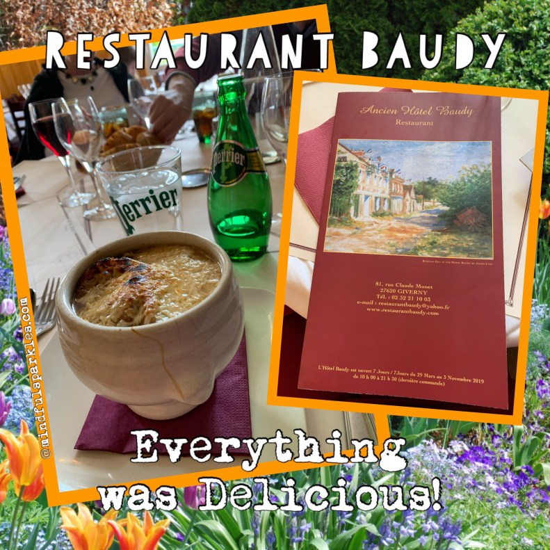 Restaurant Baudy was my favorite!