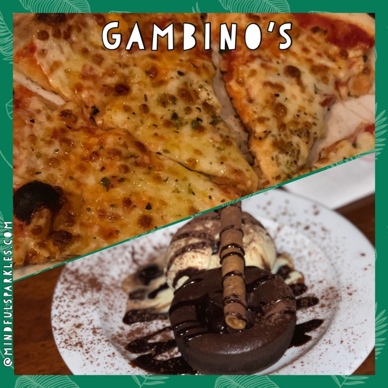 Gambino's was so good, we went twice!