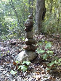 A little more rock balancing