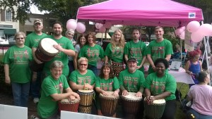 Rhythm Keepers at Paint the Town Pink (2014)