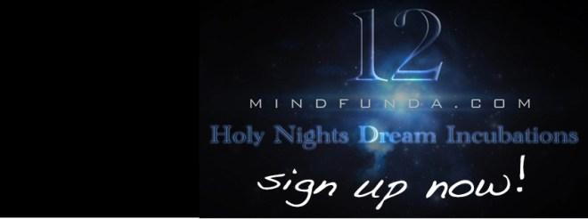 MIndfunda 12 holy days - sign up now