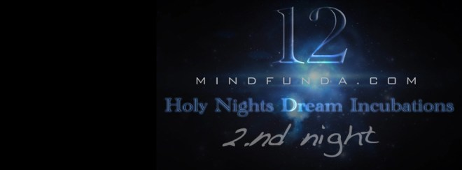 12 holy days - 2nd night