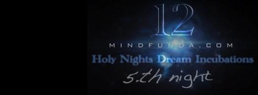 12 holy days - 5th night