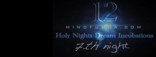 12 holy days - 7th night