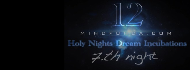 12 holy days - 7th night