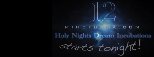 12 holy days - starts tonight