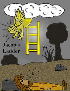 Jacob's Ladder Colored Page