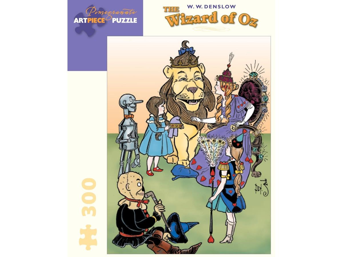 The Wizard Of Oz Jigsaw Puzzle 300 Large Pieces