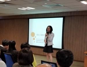精神科專科醫生陳蔓蕾 - 香港中華煤氣有限公司 - 「在職人士精神壓力」講座 - 圖片1