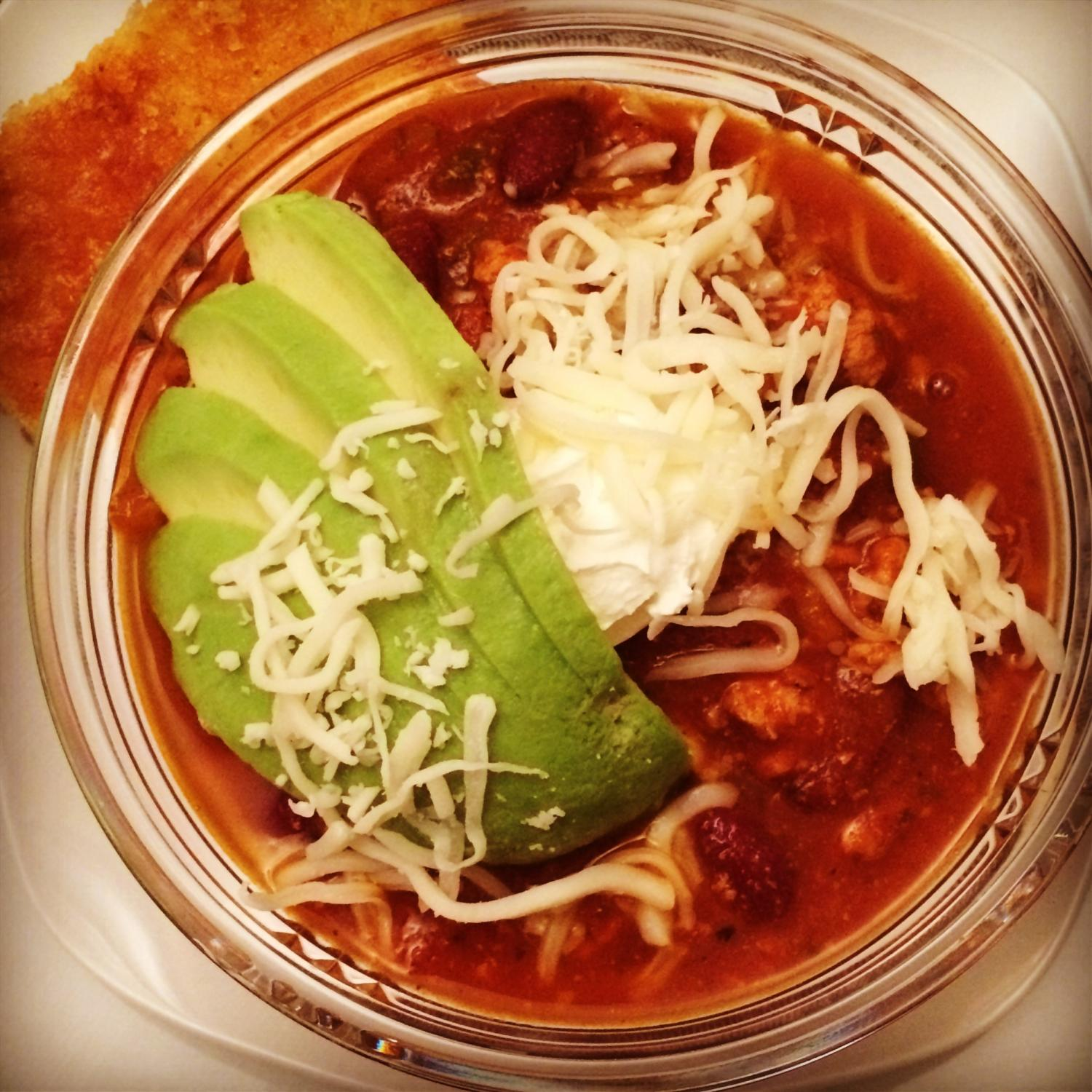Season (In)appropriate: Slow Cooker Turkey Chili