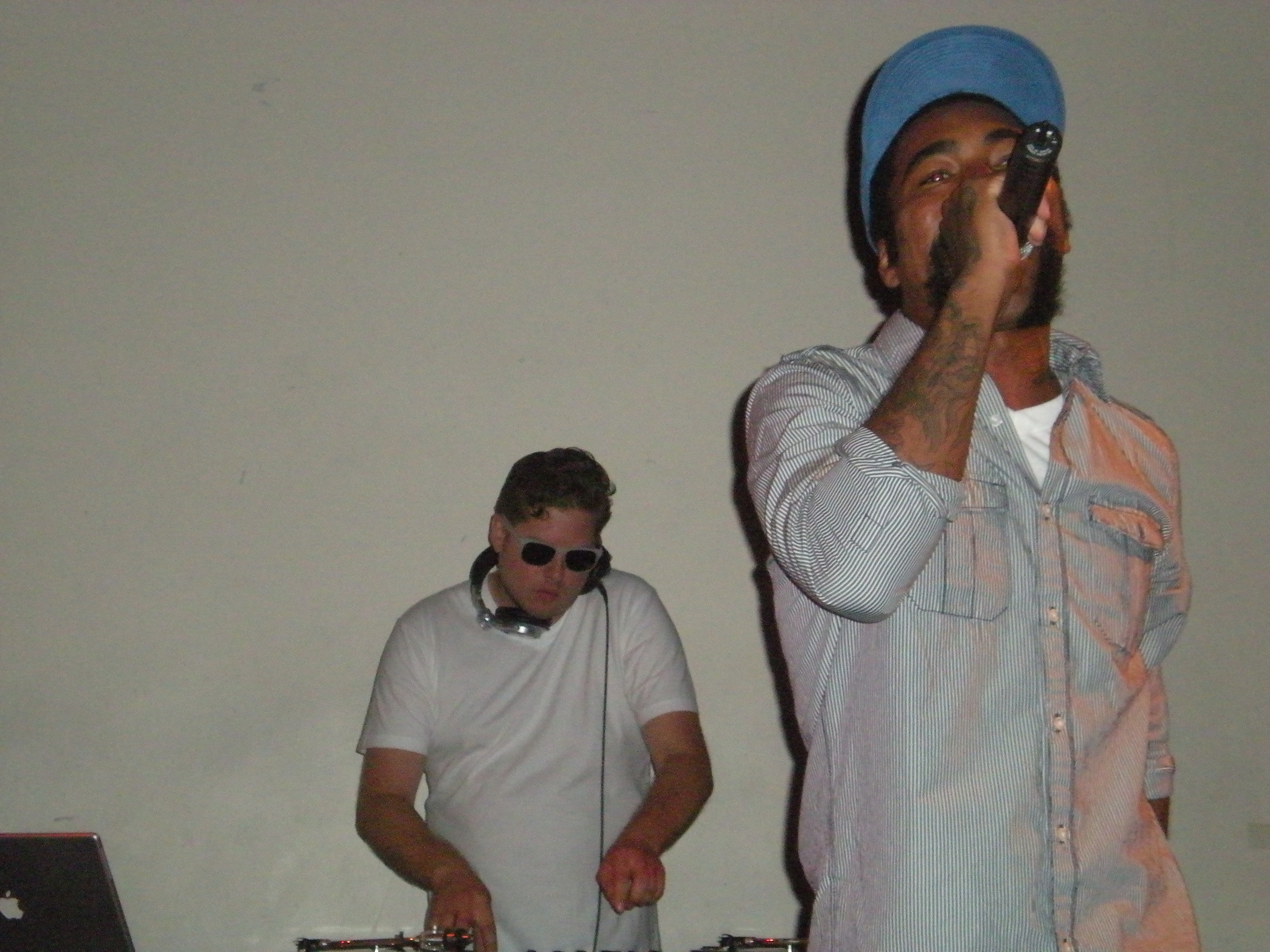 F. Stokes and Paper Tiger, photo courtesy of me