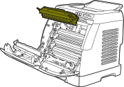 HP Color LaserJet 2600 Cartridge Operation