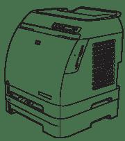 Color LaserJet 1600, 2600N, 2605 and CM1015, CM1017