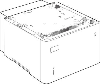 HP F2G73A 1500 Sheet High Capacity Feeder for HP Laserjet