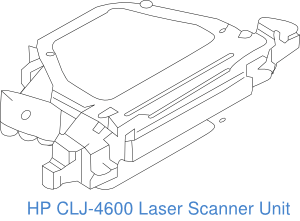 Spares for HP Color LaserJet 4600 and 4650 series printers