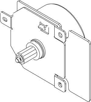 HP RL1-1657 Main Motor for HP LJ P4014 Series Printers.
