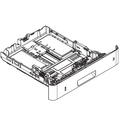 RM2-5392 Replacement 250-sheet Tray2 cassette for LJ M402